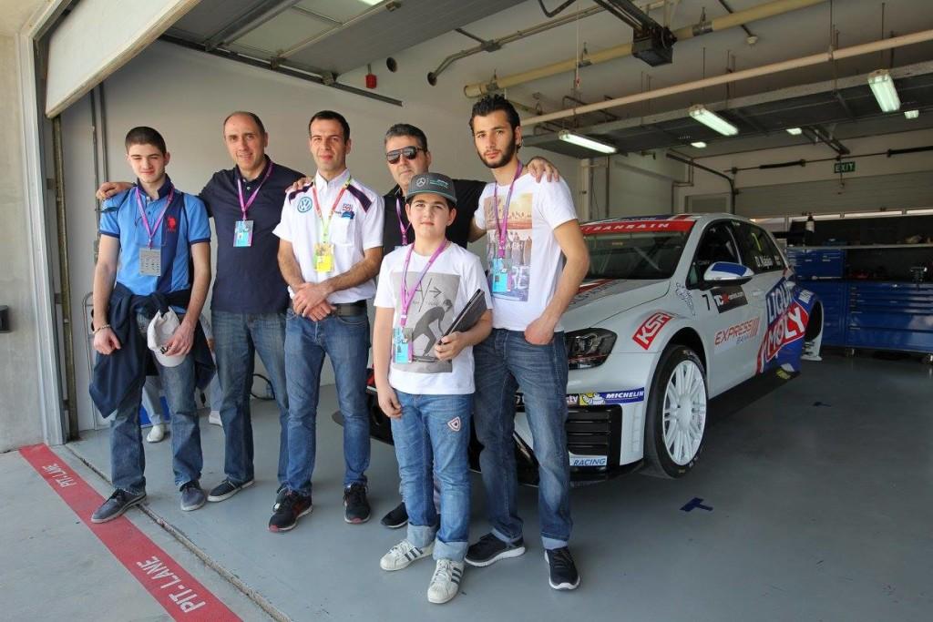 El Team Liqui Moly Engstler Debutó En Bahrein