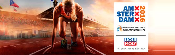 Liqui Moly: Sponsor Oficial Del Campeonato Europeo De Atletismo 2016