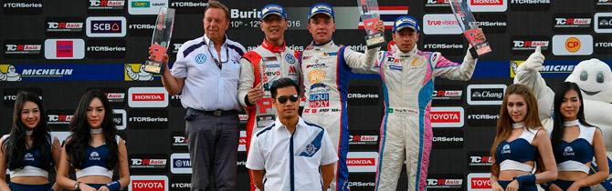 Andy Yan Se Impone En Ambas Carreras De La TCR Asia Series