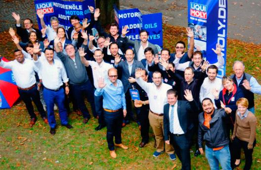 Conferencia anual latinoamericana en Liqui Moly Alemania