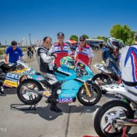 Gran Fin De Semana Para Los Pilotos De Moto Flash