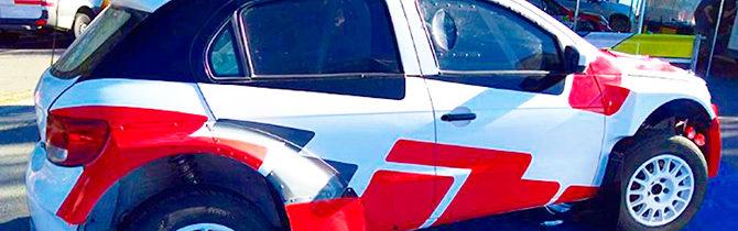 Pato Pita Con Nuevo Auto 4×4 En El Rally Argentino