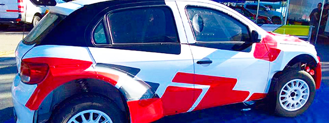Nuevo Auto De Competición 4×4 Para Pita En Rally Argentino