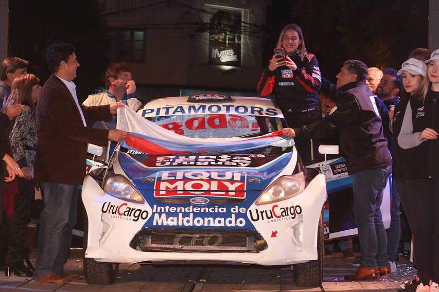 Pato Pita Rally La Rioja