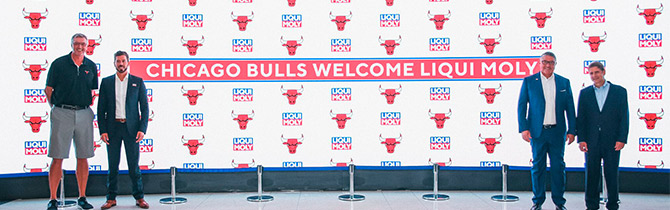 Liqui Moly Realiza Convenio Con Los Chicago Bulls