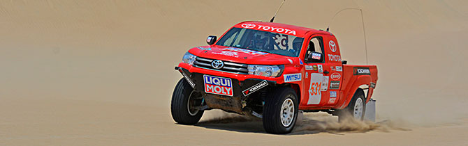 Liqui Moly Presente En El Dakar Perú