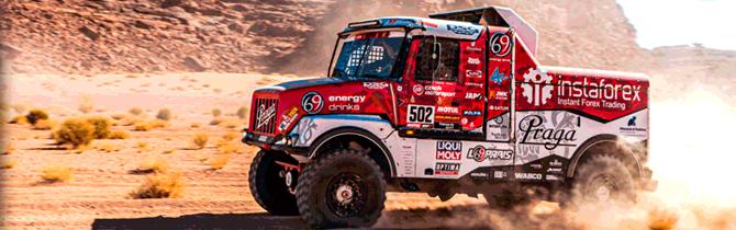 Liqui Moly Una Vez Más Presente En El Rally Dakar