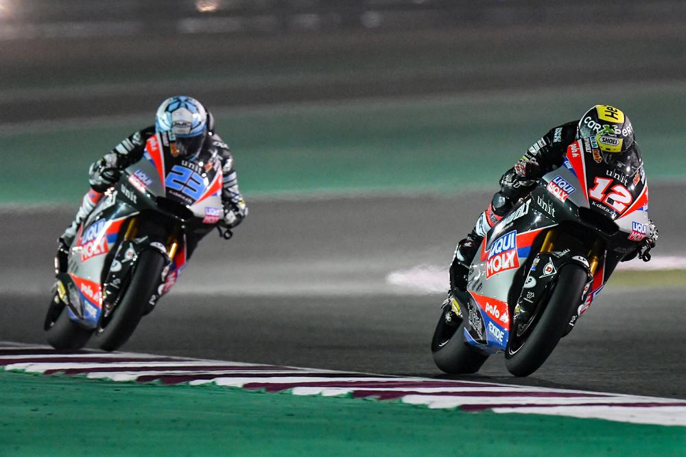 Sólido Comienzo De Temporada En Qatar Para El Equipo Liqui Moly Intact GP