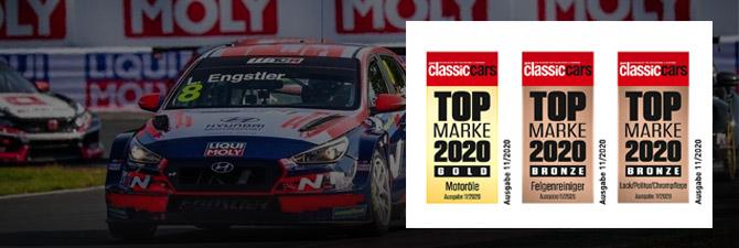 """Liqui Moly en el podio gracias a los lectores de la revista """"Classic Cars"""""""