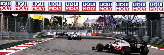 Liqui Moly Presencia Un Triunfo Histórico En La Fórmula 1