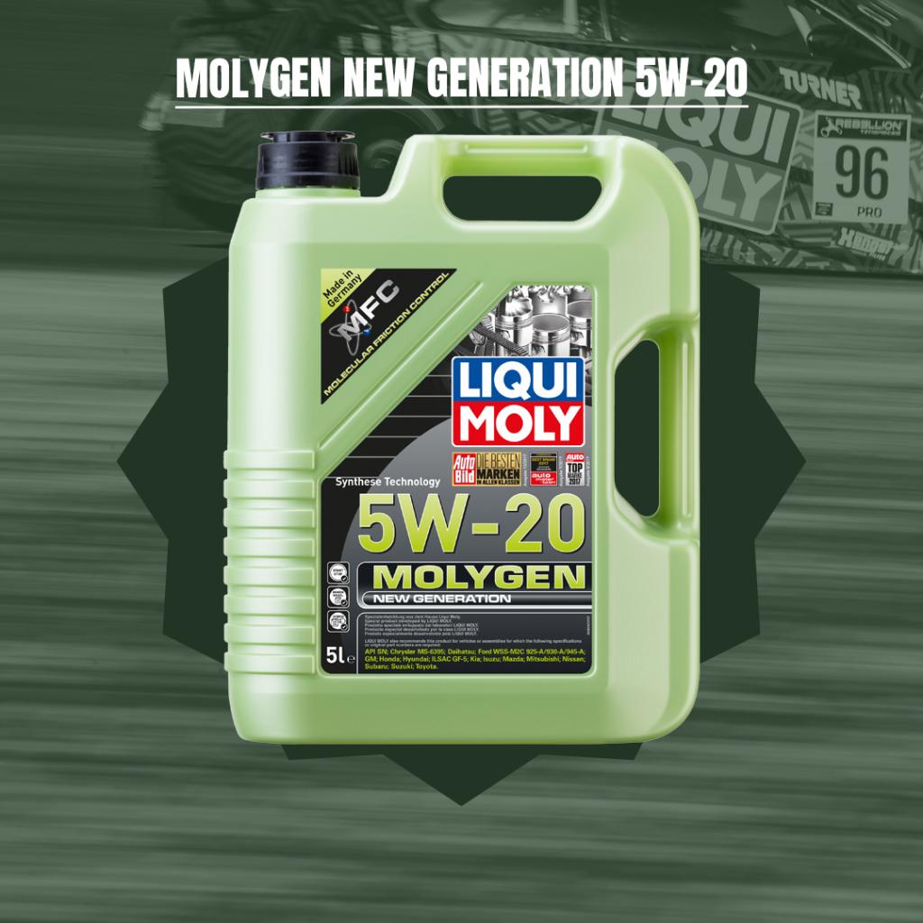 Molygen New Generation 5W-20
