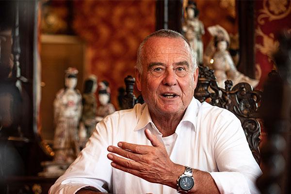 Ernst Prost, Director Gerente de Liqui Moly, anuncia su partida